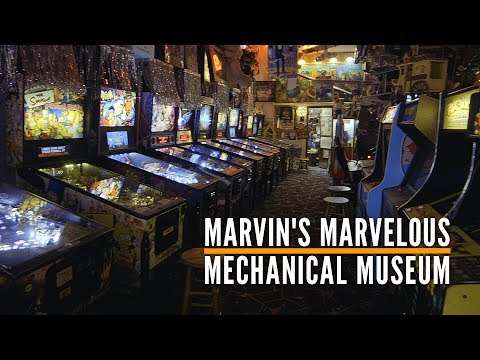 A Century of Arcade: Inside Marvin's Marvelous Mechanical Museum