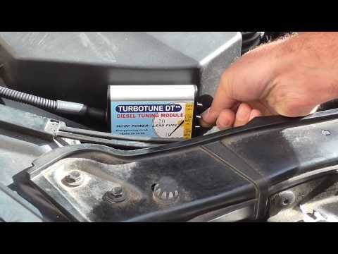 BMW 320D Turbotune Diesel Chip Tuning Box fitting guide