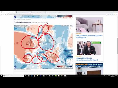 EC 30 Day Weather Forecast For UK  Europe 22nd October To 18th November 2018