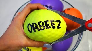 How to Make ORBEEZ, BEADOS & Play Foam Slime with Balloons!