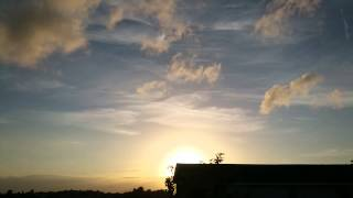 ‎21 ‎August ‎2015 - NEXRAD Chemtrail Sunset Time-lapse