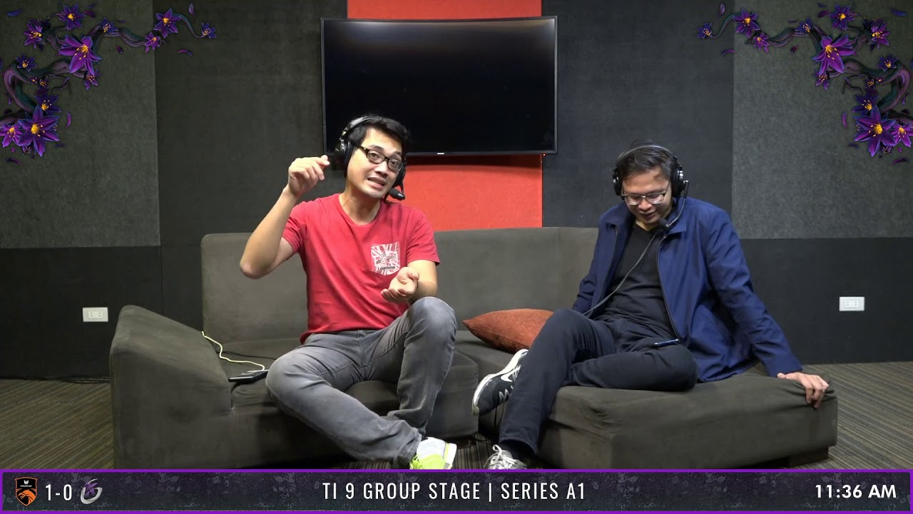 TI 9 Group Stage   Series A1   TNC Predator VS Keen Gaming   Game 2 - YouTube