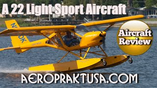 Mount Vernon (IL) United States  city pictures gallery : Aeroprakt A22 light sport aircraft review Midwest LSA Expo Mt Vernon Illinois