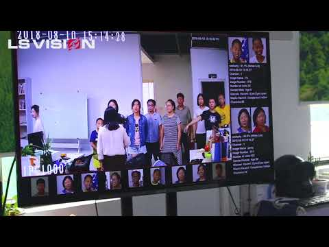 Amazing Video, LSVISION Latest Intelligent H.265+ Super WDR Face Recognition IP Camera