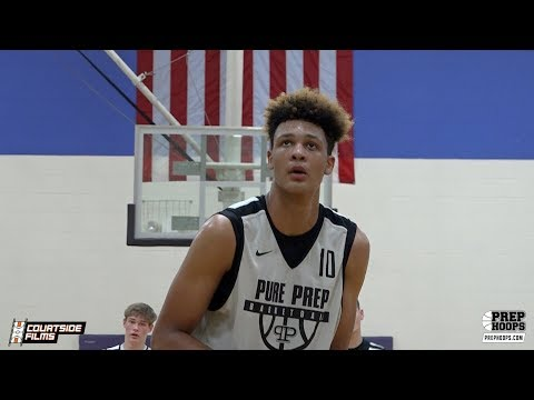 6'11 Sophomore Xavier Foster Highlights @ Prep Hoops Battle At The Lakes!