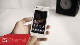 Schannel -Đánh giá chi tiết thiết kế, màn hình, camera Xperia M - CellphoneS