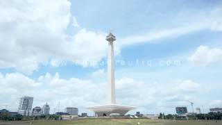 Monas Timelapse. Monument National Indonesia. Jakarta | AhmadTaufiq.com