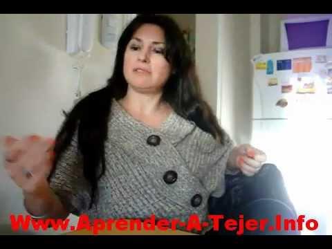 Para APrender A Tejer A Crochet, Con Una Y Dos Agujas, A Palillos, Con