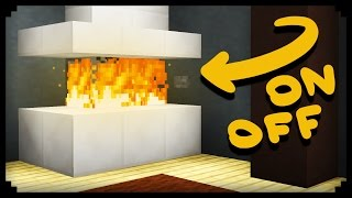 A safe redstone fireplace you can turn on and off with the click of a button! In this video I'll show you 4 different fireplace designs using this method, but the possibilities are endless! :DTranslate: http://www.youtube.com/timedtext_cs_panel?c=UCyGteX4xK-ZO7u9GMB8gKfA&tab=2Music by C418 and Toby Fox.