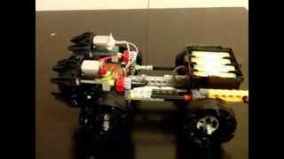 Как сделать машинку на моторчике из лего