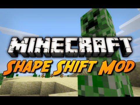 Minecraft Mod Review: SHAPE SHIFTER MOD!