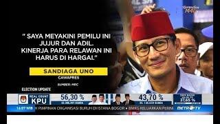 Video TKN Apresiasi Sikap Sandiaga Uno Nyatakan Pemilu 2019 Jujur & Adil MP3, 3GP, MP4, WEBM, AVI, FLV Mei 2019