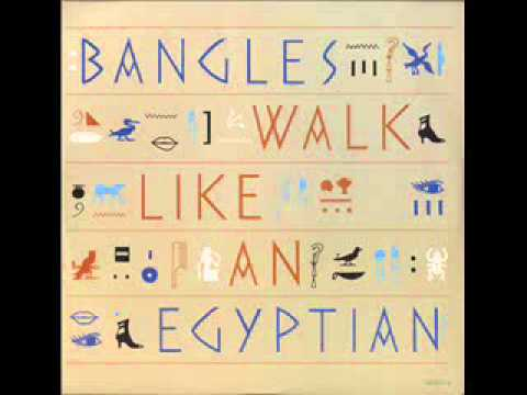 "the bangles - ""walk like an egyptian"""