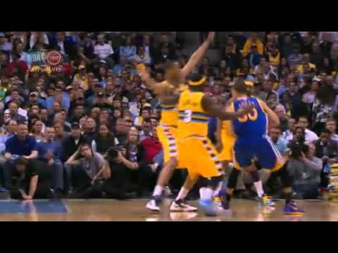 NBA Playoffs 2013: NBA Golden State Warriors Vs Denver Nuggets Highlights April 23, 2013 Game 2