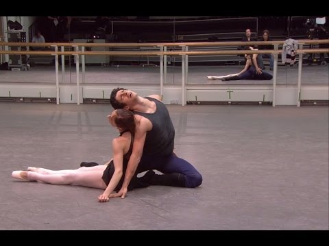 Kenneth MacMillan's Manon short rehearsal - World Ballet Day 2014 (The Royal Ballet)