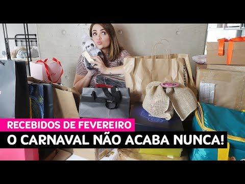 Recebidos de fevereiro: nem todo Carnaval tem seu fim! • Karol Pinheiro