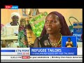 Refugees opt to use tailoring as a source of livelihood