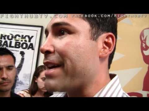 Oscar De La Hoya chimes in on Shane Mosley vs Sergio Mora