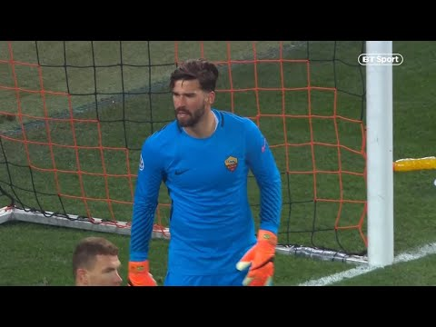 Stunning saves! Liverpool agree fee with AS Roma for goalkeeper Alisson