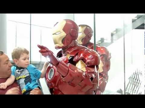 Iron Man at the Royal Armouries Leeds