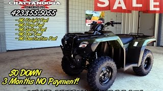 9. 2016 Rancher ES 420 2X4 ATV For Sale - Chattanooga TN Honda PowerSports Dealer / TRX420TE1G