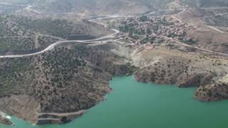 çekerek barajı havadan video