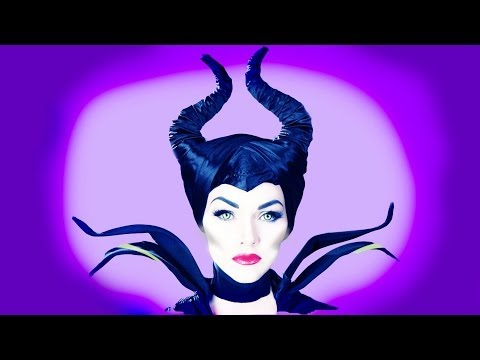 Maleficent Make-Up Tutorial