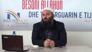 Ska lidhje sa gjynahe të mëdhaja ke ba (Kthehu te Allahu, Pendohu) - Hoxhë Bekir Halimi