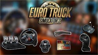 Euro Truck Simulator 2 na Logitech G29 + ButtonBox + FreeTrack + SKRS + Manetka kierunkowskazów