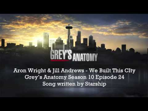 Grey's Anatomy - We Built This City (Season 10x21 Aron Wright & Jill Andrews)
