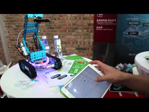[Demo] Makebot demo at TechCrunch Beijing