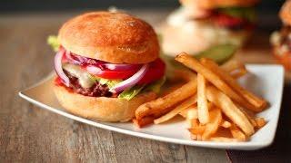 Klassieke hamburger