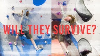 ONE ARM AND ONE LEG DYNO!?! ALEX HONNOLD FREE SOLO BOULDER by Eric Karlsson Bouldering