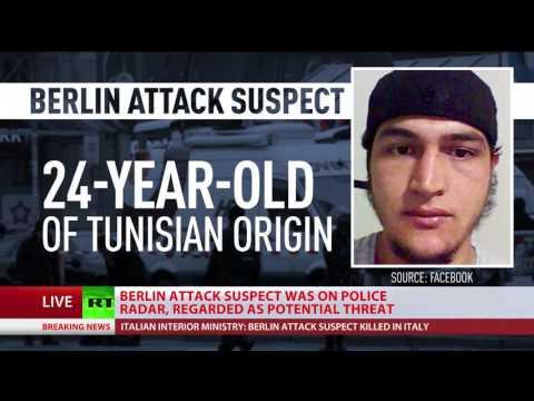 Berlin market attack suspect killed in Milan shootout