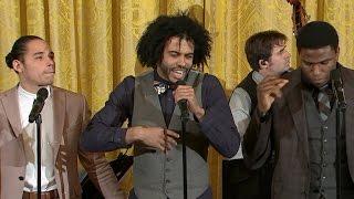 "Video Hamilton cast performs ""Alexander Hamilton"" at White House MP3, 3GP, MP4, WEBM, AVI, FLV Desember 2018"