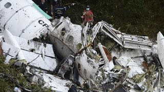 Pilot said Brazilian team plane was out of fuel before deadly crash