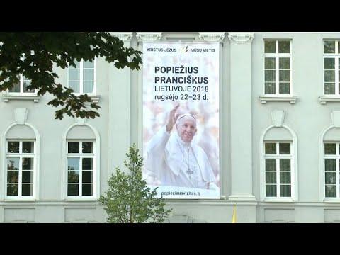 Η Λιθουανία υποδέχεται τον Πάπα