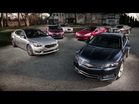 2014 Chevrolet Impala vs. Chrysler 300S, Dodge Charger, Hyundai Azera, Kia Cadenza, Toyota Avalon