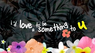 gnash - something [lyric video] Video
