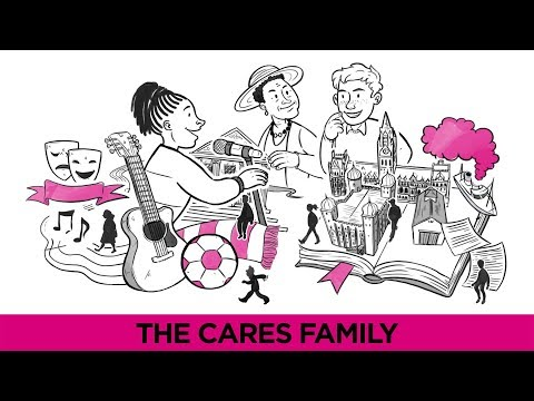 The Cares Family - Combating Loneliness Through Connection - A Cognitive Whiteboard Animation