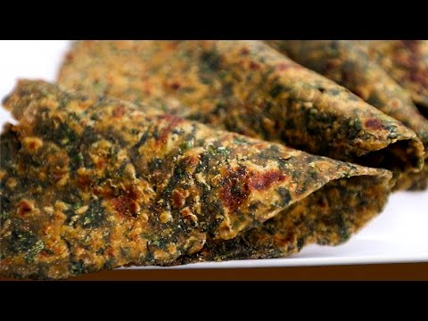 How to make Palak Paratha | Paratha Recipes | Ruchi's Kitchen