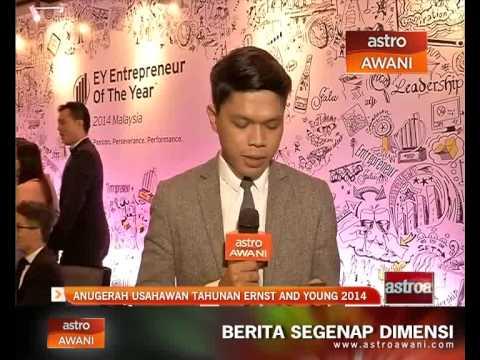 Anugerah usahawan tahunan Ernst and Young 2014