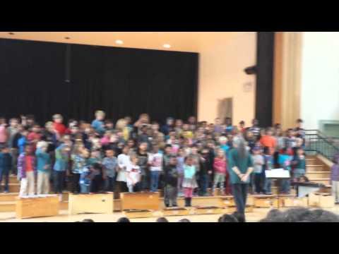 Malcolm X Elementary 1st Grade Music Presentation 052115(1)