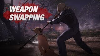 friday the 13th  the game  jason weapon swapping