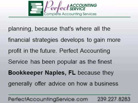 Bookkeeper Naples, FL   The Secret behind Perfect Accounting Services Success