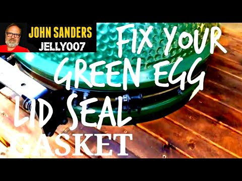 How to seal the Lid & Gasket of your Big Green Egg Perfectly & Properly