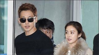 Kim Tae Hee và Bi Rain lần đầu xuất hiện sau đám cưới(Tin tức Sao Việt), phim tay trong tay, tay trong tay, xem phim tay trong tay, phim dai loan, phim dai loan tay trong tay