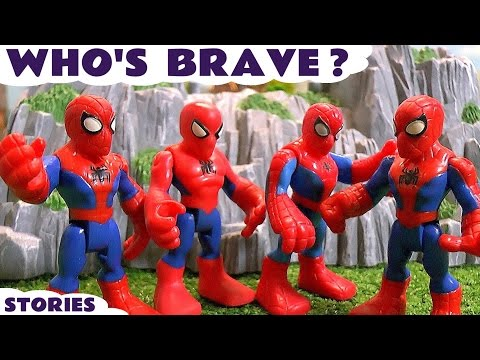 Spiderman Superheroes with Avengers Paw Patrol Thomas and Friends Surprise Eggs Toy Story TT4U