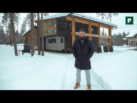 Компактный и динамичный: дом из дерева и камня родом из Эстонии // FОRUМНОUSЕ - DomaVideo.Ru
