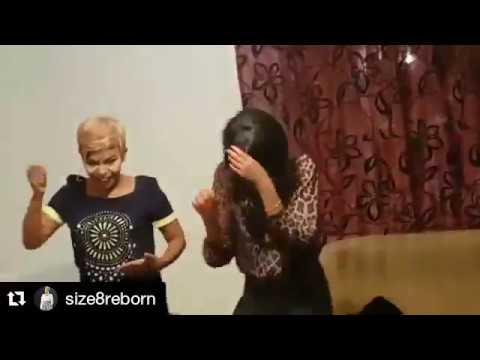 Size 8 And Her Sister Dj 7 Dancing Willy Paul's Digiri